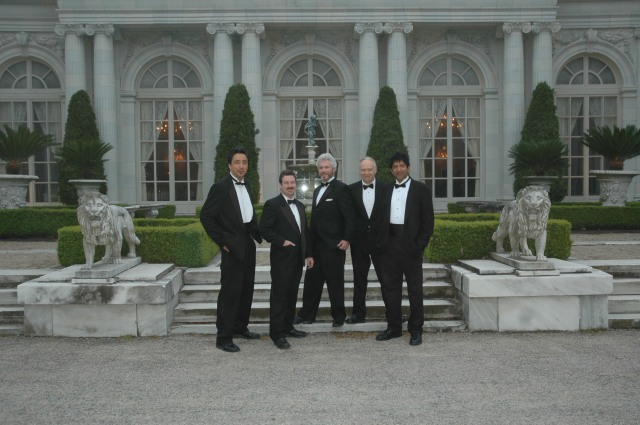 A gig at Rosecliff Mansion, Newport