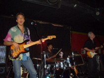 Rockin' at one our club gigs